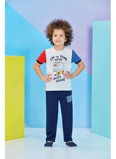 Bugs Bunny Bugs Bunny Lisanslı Krem Erkek Çocuk Pijama Takımı Krem